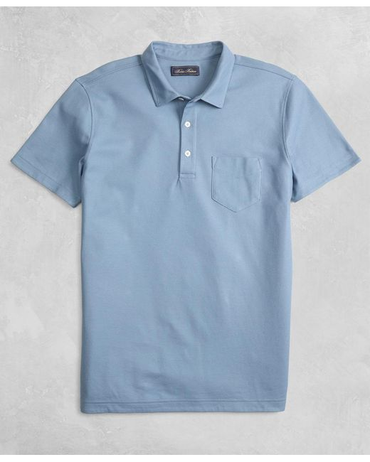 Brooks Brothers - Blue Golden Fleece® Short-sleeve Polo Shirt for Men - Lyst