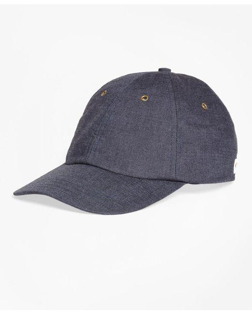 Brooks Brothers | Blue Denim Baseball Cap for Men | Lyst