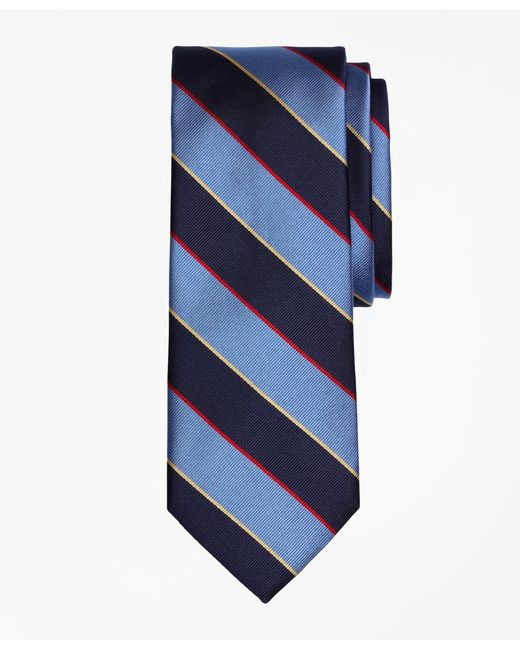 Brooks Brothers - Blue Argyle And Sutherland Rep Tie for Men - Lyst