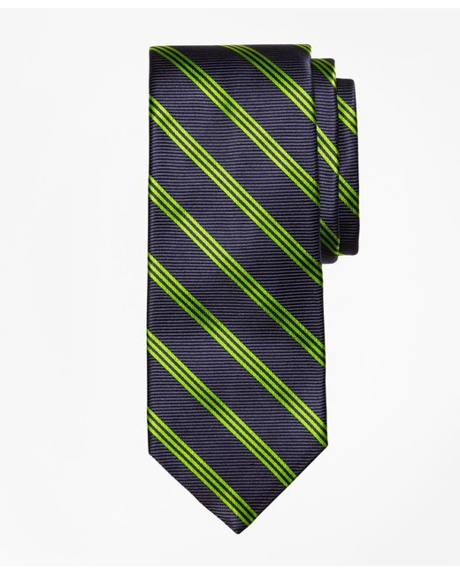 Brooks Brothers - Blue St. Jude Stripe Tie for Men - Lyst