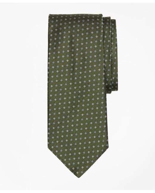 Brooks Brothers - Green Parquet Tie for Men - Lyst