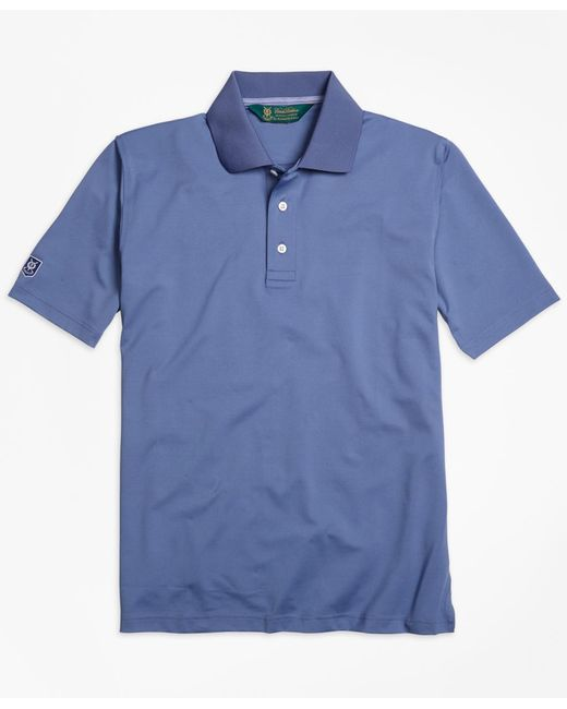 Brooks Brothers   Blue St. Andrews Links Golf Polo Shirt for Men   Lyst