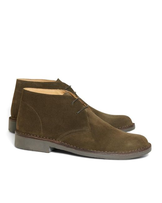 Brooks Brothers | Green Field Chukka Boots for Men | Lyst
