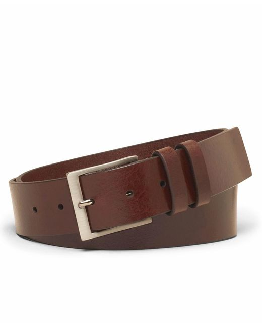 Brooks Brothers - Brown Square Buckle Belt for Men - Lyst