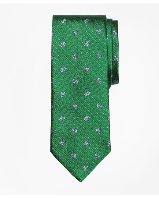 Brooks Brothers | Green Textured Pine Tie for Men | Lyst