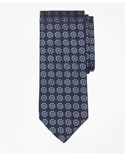 Brooks Brothers - Blue Spaced Floral Tie for Men - Lyst