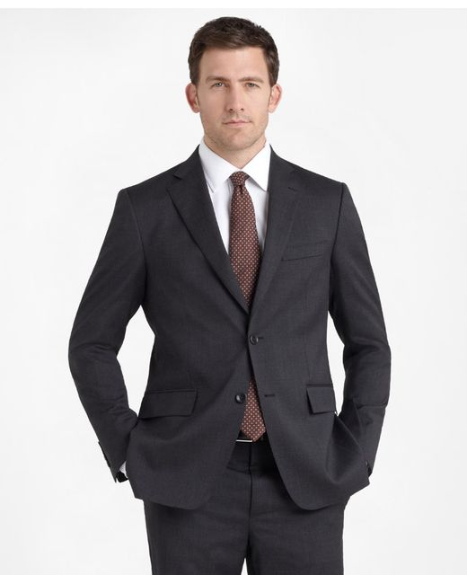Brooks Brothers - Gray Regent Fit Solid 1818 Suit for Men - Lyst