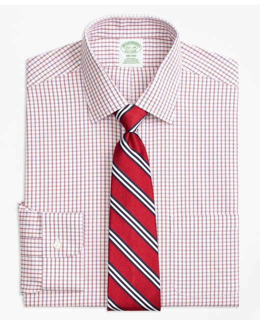 Brooks Brothers Red Extra Slim Slim-fit Dress Shirt for men