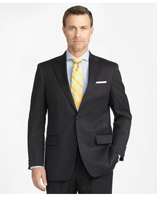 Brooks Brothers - Gray Madison Fit Two-button 1818 Suit for Men - Lyst