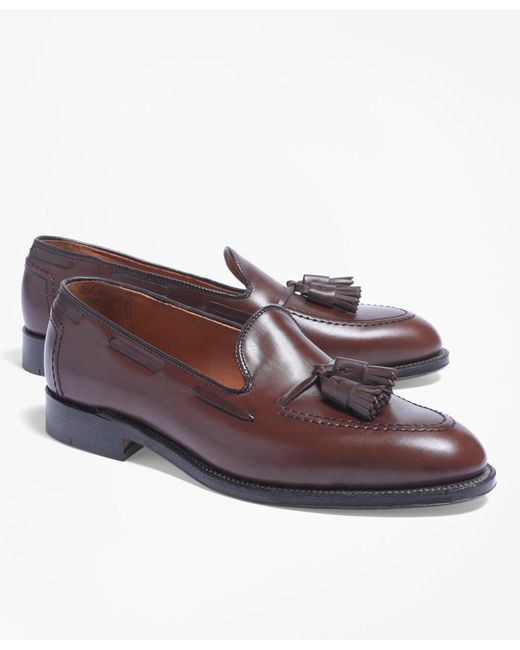Brooks Brothers - Brown Tassel Loafers for Men - Lyst