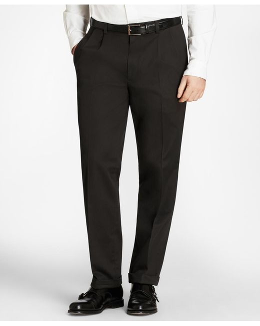 Brooks Brothers - Black Elliot Fit Lightweight Stretch Advantage Chinos® for Men - Lyst