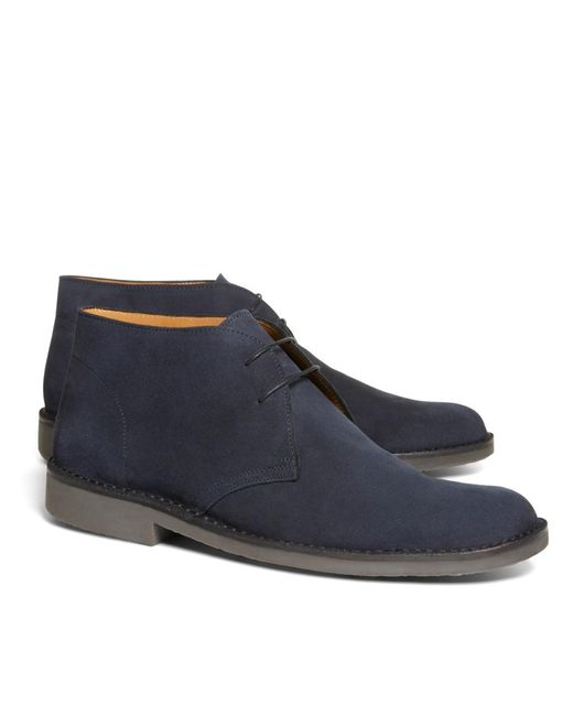 Brooks Brothers | Blue Field Chukka Boots for Men | Lyst