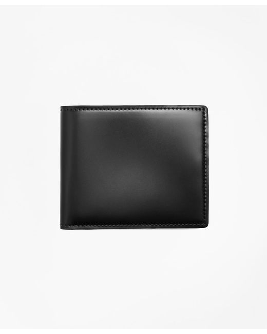Brooks Brothers - Brown Cordovan Wallet for Men - Lyst