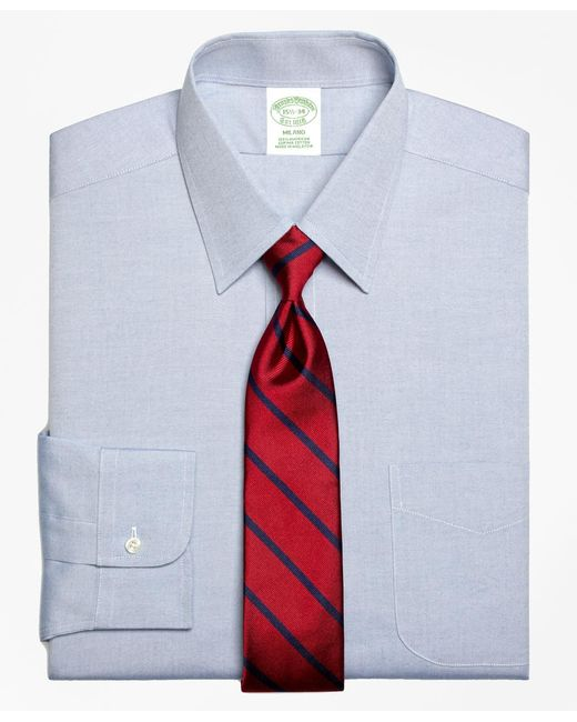 Brooks Brothers - Blue Milano Fit Forward Point Collar Dress Shirt for Men - Lyst