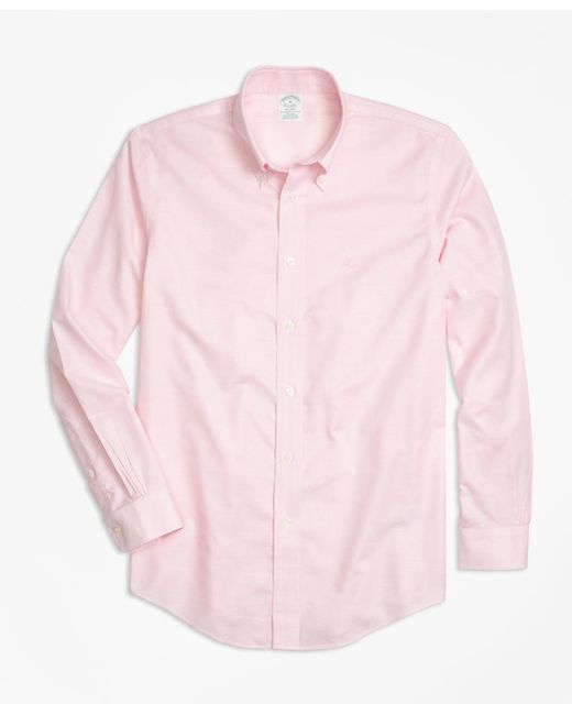 Brooks Brothers - Pink Non-iron Madison Fit Oxford Sport Shirt for Men - Lyst