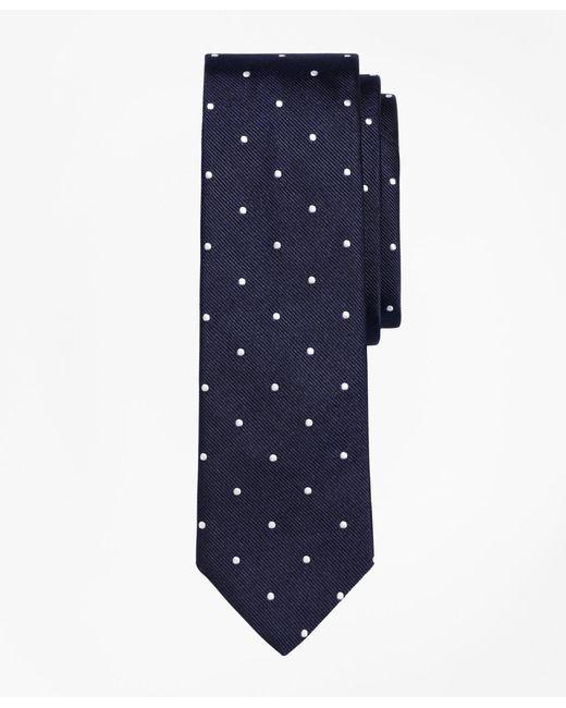 Brooks Brothers | Blue Dot Slim Tie for Men | Lyst