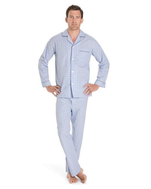 Brooks Brothers | Blue Glen Plaid Pajamas for Men | Lyst