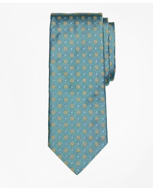 Brooks Brothers | Green Parquet Flower Tie for Men | Lyst