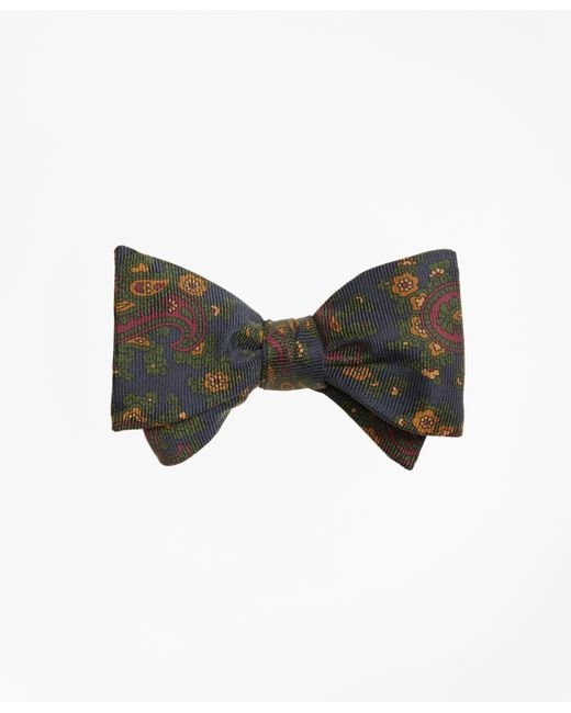 Brooks Brothers   Blue Ancient Madder Paisley Print Bow Tie for Men   Lyst