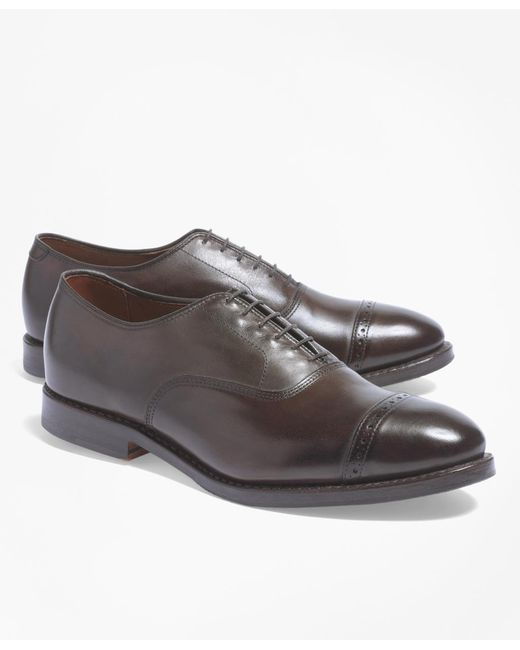 Brooks Brothers | Brown Perforated Captoes for Men | Lyst