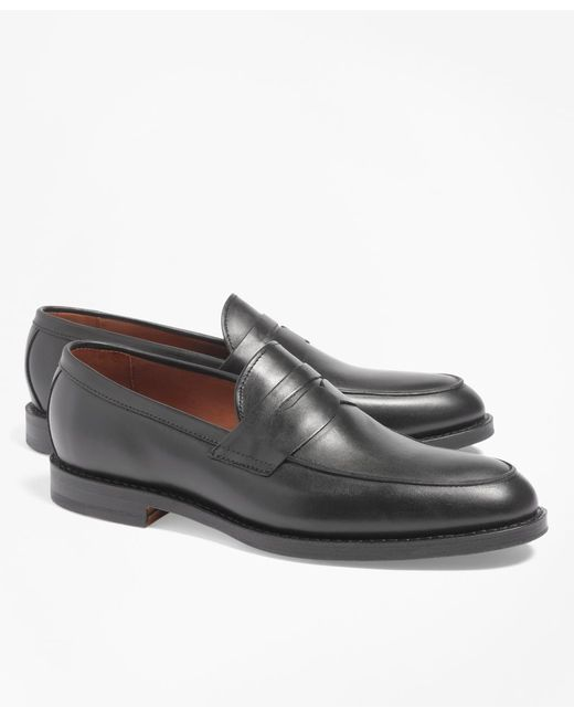 Brooks Brothers | Black Penny Loafers for Men | Lyst