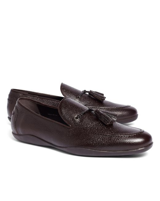 Brooks Brothers | Purple Harrys Of London® Dylan Scotch Loafers for Men | Lyst