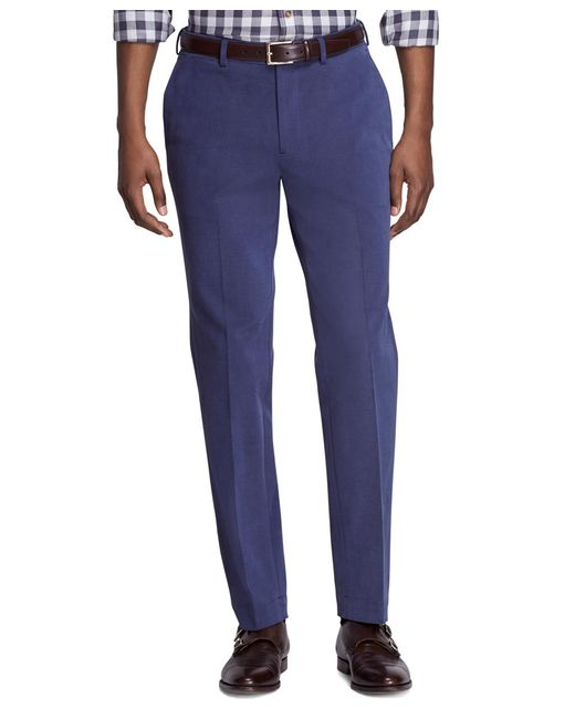 Brooks Brothers | Blue Milano Fit Dress Chinos for Men | Lyst