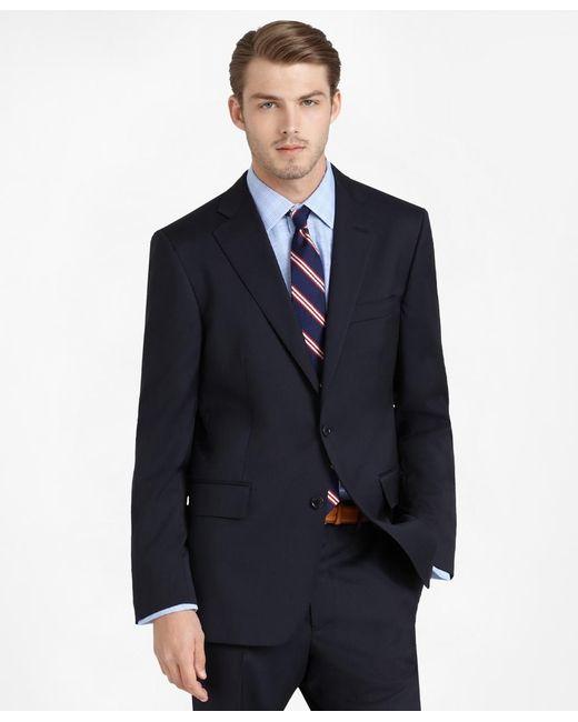 Brooks Brothers | Blue Regent Fit Solid 1818 Suit for Men | Lyst