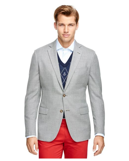 Brooks Brothers | Gray Fitzgerald Fit Two-button Sport Coat for Men | Lyst