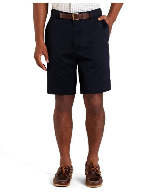 Brooks Brothers | Blue Plain-front Lightweight Advantage Shorts for Men | Lyst
