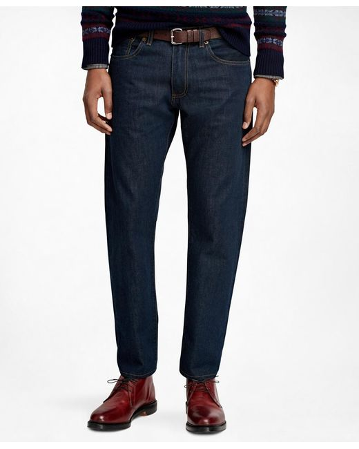 Brooks Brothers | Blue Supima® Denim Slim Fit Jeans for Men | Lyst