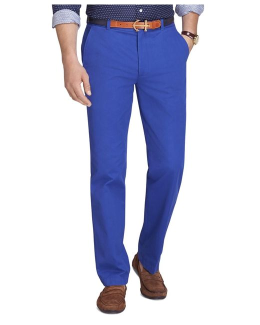 Brooks Brothers | Blue Clark Fit Vintage Washed Chinos for Men | Lyst