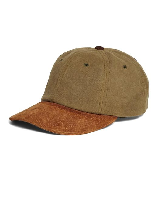 Brooks Brothers | Green Waxed Canvas Baseball Hat for Men | Lyst
