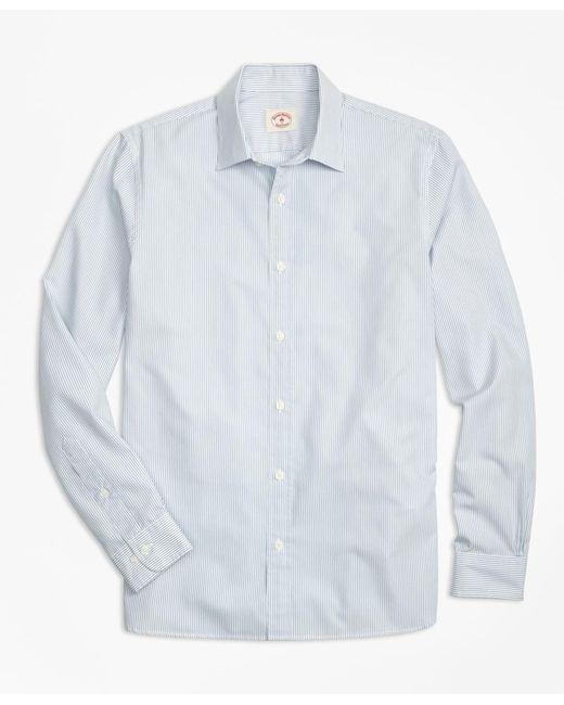 Brooks Brothers | Blue Nine-to-nine Stripe Shirt for Men | Lyst