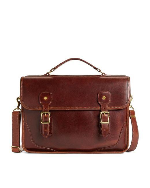 Brooks Brothers   Brown Jw Hulme Brief Bag for Men   Lyst