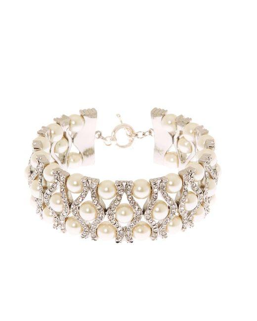 Brooks Brothers | Metallic Crystal Bracelet | Lyst
