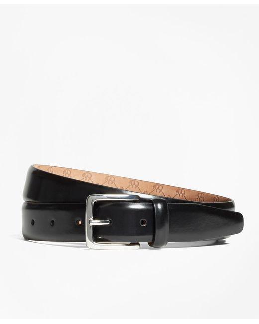 Brooks Brothers - Black Golden Fleece® Monogram Belt for Men - Lyst
