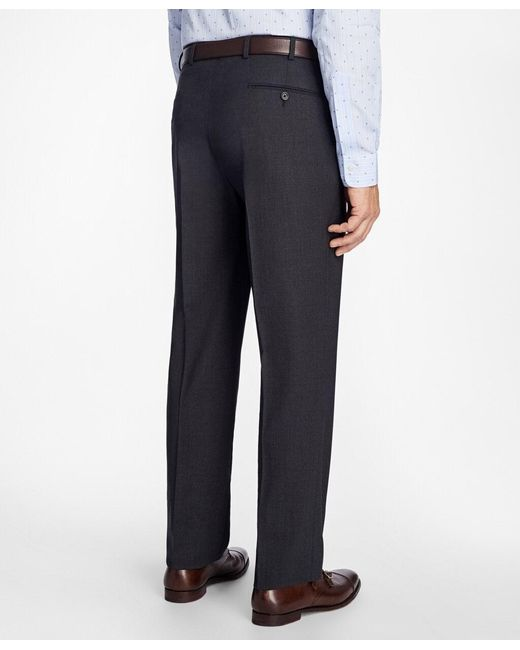 Brooks Brothers Multicolor Madison Fit Brookscool Houndstooth Trousers for men