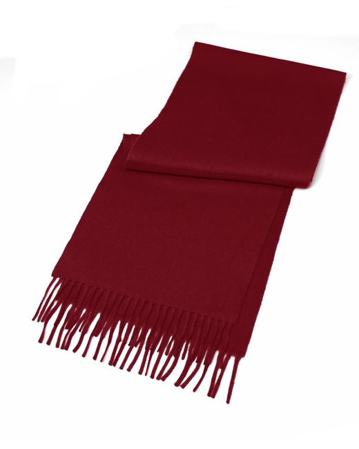 Brooks Brothers Purple Cashmere Scarf for men