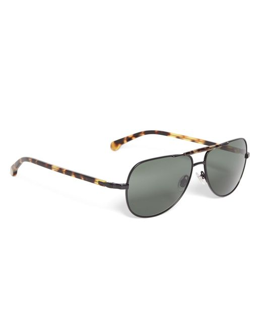 Brooks Brothers   Yellow Aviator Sunglasses   Lyst