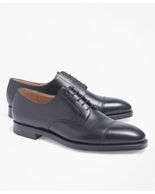 Brooks Brothers | Black Leather Wingtips for Men | Lyst