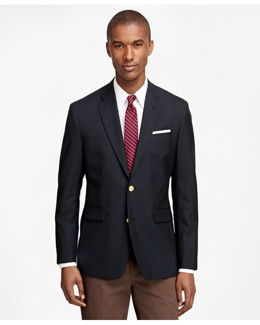 Brooks Brothers - Blue Milano Fit Two-button Classic 1818 Blazer for Men - Lyst