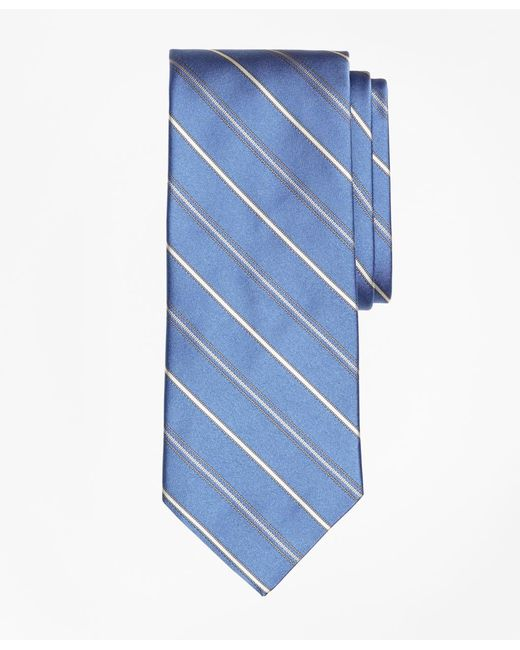 Brooks Brothers | Blue Alternating Stripe Tie for Men | Lyst