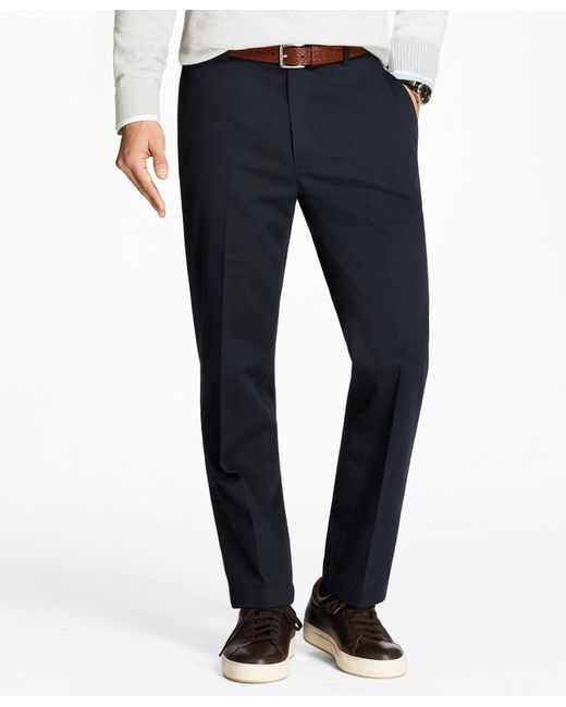 Brooks Brothers - Blue Clark Fit Stretch Advantage Chinos® for Men - Lyst