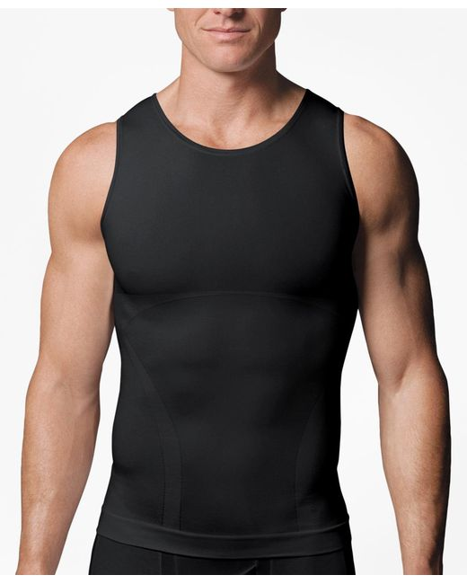 Brooks Brothers   Black Spanx® Zoned Performance Tank for Men   Lyst