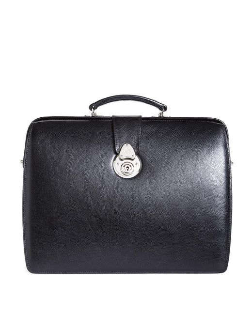 Brooks Brothers - Black Lawyers Small Briefcase for Men - Lyst