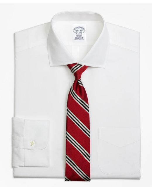 Brooks Brothers - White Non-iron Madison Fit Spread Collar Dress Shirt for Men - Lyst