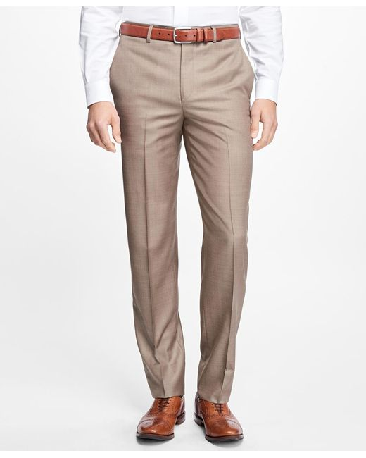 Brooks Brothers - Multicolor Fitzgerald Fit Wool Dress Trousers for Men - Lyst
