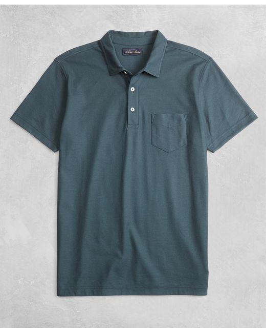 Brooks Brothers - Blue Golden Fleece® Short-sleeve Polo Shirt for Men - Lyst