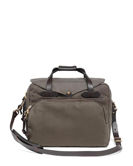 Brooks Brothers - Green Filson® Twill Padded Computer Bag for Men - Lyst